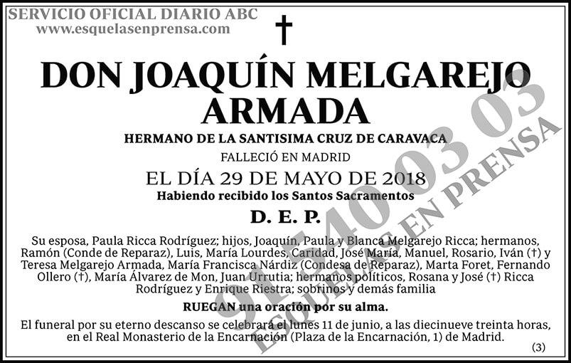 Joaquín Melgarejo Armada